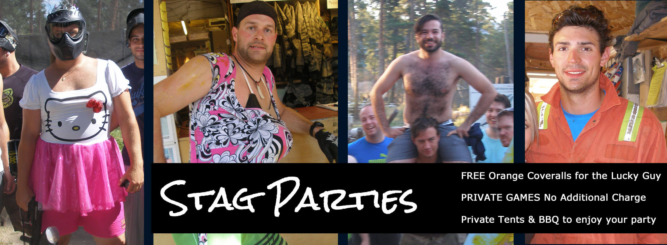 Have your Stag Party at Safari Ridge Adventure Park
