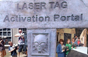 Outdoor Laser Tag on 3 fields!